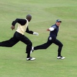 The greatest golf photo of all time? Michael Jordan and Sergio Garcia